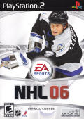 NHL 06 PlayStation 2 Front Cover