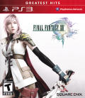 Final Fantasy XIII PlayStation 3 Front Cover