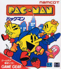 Pac-Man Game Gear Front Cover