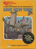 Save New York Commodore 64 Front Cover