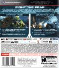 Aliens: Colonial Marines PlayStation 3 Back Cover