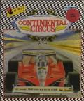 Continental Circus Commodore 64 Front Cover