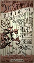 Don't Starve Linux Front Cover Naughty and Nice update (December 11, 2012).