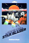 Star Blazer Apple II Front Cover