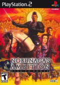 Nobunaga's Ambition: Rise to Power PlayStation 2 Front Cover