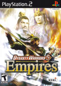 Dynasty Warriors 5: Empires PlayStation 2 Front Cover