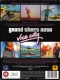 Grand Theft Auto: Vice City Windows Back Cover