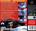 Mission: Impossible PlayStation Back Cover