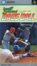 Super Bases Loaded SNES Front Cover