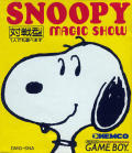 Snoopy's Magic Show Game Boy Front Cover