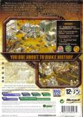 Rise of Nations: Gold Edition Windows Back Cover