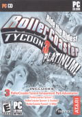 RollerCoaster Tycoon 3: Platinum! Windows Front Cover