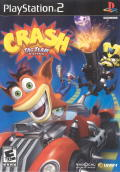 Crash Tag Team Racing PlayStation 2 Front Cover