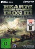 Hearts of Iron III: Their Finest Hour Windows Front Cover