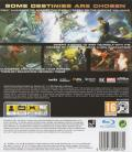 X-Men: Destiny PlayStation 3 Back Cover