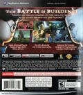 LEGO Harry Potter: Years 5-7 PlayStation 3 Back Cover