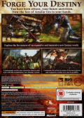 Kingdoms of Amalur: Reckoning Xbox 360 Back Cover