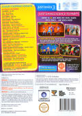 Just Dance 3 Wii Back Cover