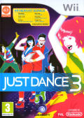 Just Dance 3 Wii Front Cover