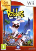 Rabbids Go Home Wii Front Cover