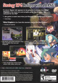 Makai Kingdom: Chronicles of the Sacred Tome PlayStation 2 Back Cover