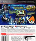 PlayStation All-Stars Battle Royale PlayStation 3 Back Cover
