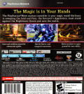 Sorcery PlayStation 3 Back Cover