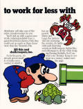 Mario Bros. Arcade Inside Cover Right