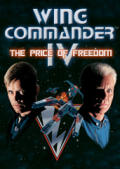 Wing Commander IV: The Price of Freedom Windows Front Cover 1st version