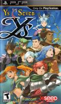 Ys Seven PSP Front Cover