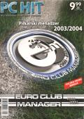 Euro Club Manager 2003-04 Windows Front Cover