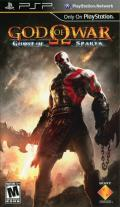 God of War: Ghost of Sparta PSP Front Cover