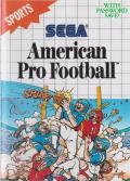 Walter Payton Football SEGA Master System Front Cover
