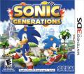 Sonic Generations Nintendo 3DS Front Cover