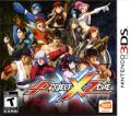 Project X Zone Nintendo 3DS Front Cover
