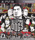 Sleeping Dogs PlayStation 3 Front Cover