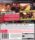 Sleeping Dogs PlayStation 3 Back Cover