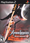 Dynasty Warriors 4: Xtreme Legends PlayStation 2 Front Cover
