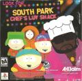 South Park Rally PlayStation Inside Cover Left Inlay