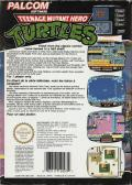 Teenage Mutant Ninja Turtles NES Back Cover