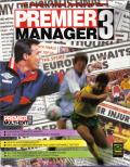 Premier Manager 3 DOS Front Cover