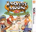 Harvest Moon 3D: A New Beginning Nintendo 3DS Front Cover