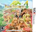 Rune Factory 4 Nintendo 3DS Front Cover