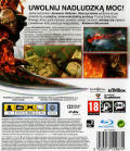 Prototype 2 PlayStation 3 Back Cover
