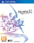 Final Fantasy X-2 International + Last Mission PS Vita Front Cover