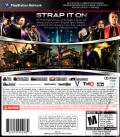 Saints Row: The Third PlayStation 3 Back Cover
