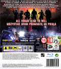 Resident Evil: Operation Raccoon City PlayStation 3 Back Cover