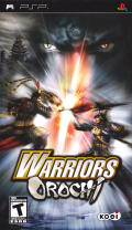 Warriors Orochi PSP Front Cover