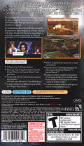Warriors Orochi PSP Back Cover
