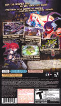 Disgaea: Afternoon of Darkness PSP Back Cover